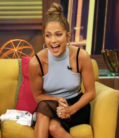 J-Lo is the queen of topknots! http://lookm.ag/2njYlM