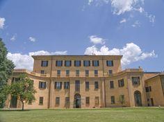 """Villa Pallavicini"" in Bologna  that housed W.A. Mozart and his father Leopold in 1770"