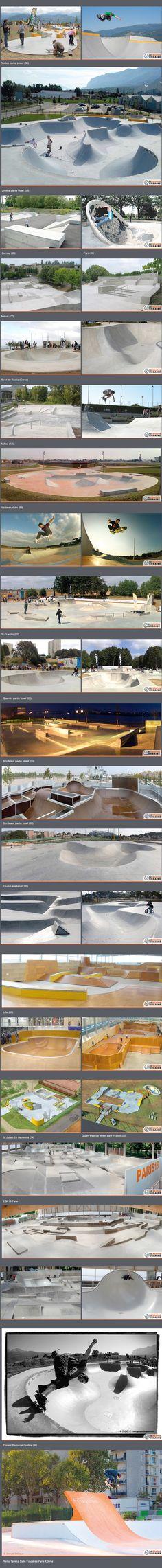 skatepark de récréation urbaine