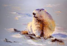 Artwork >> Breton Michel >> sentinel Pastel Art, Polar Bear, Ink, Drawings, Artworks, Artists, Facebook, Blog, Charcoal Picture