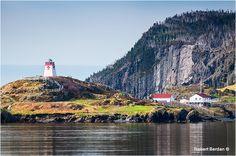 Fort Point Lighthouse Trinity Bay by Robert Berdan © Newfoundland Canada, Newfoundland And Labrador, Watercolor Landscape, Watercolour, Canadian Nature, Fort Point, Point Light, Atlantic Canada, Prince Edward Island