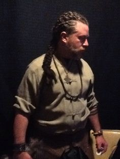 Viking hair braid