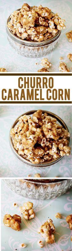 Churro Caramel Corn