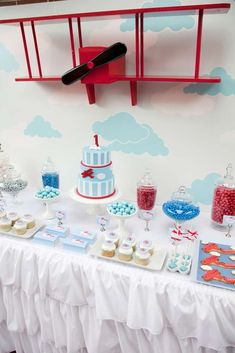 Vintage Aeroplane Party Birthday Party Party Ideas   Photo 12 of 12   Catch My Party