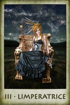 Significado da Imperatriz no #tarot
