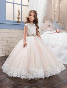 Abaowedding шампанское выпускные платья дети театрализованное бальное платье платья для девочек платья выпускного вечера кружева цветок девочки платья купить на AliExpress