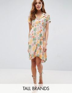 Buy it now. Vero Moda Tall Floral Print Tea Dress - Multi. Tall dress by Vero Moda Tall, Crinkled woven fabric, Collared neckline, Button placket, Floral print, Belted waist, Relaxed fit, Machine wash, 100% Viscose, Our model wears a UK S/EU S/US XS and is 178cm/5'10 tall. ABOUT VERO MODA TALL Chic, modern and Danish, Vero Moda is all about rebooting your wardrobe with fresh basics and suped-up tailoring. Vero Moda Tall brings us the same signature Scandi-cool vibe and relaxed pieces, only…
