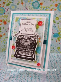 Created By Barbara: Rose Blossom SOTM Blog Hop