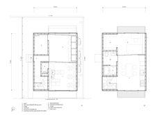 Wooden Box House - Suzuki Architects - Kawaguchi Japan - Floor Plan - Humble Homes