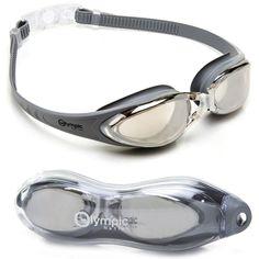 59429cbf30c Olympic Nation Pro Swim Goggles Silver Children Men Women Kids High Quality  Gift