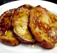 "Denny's-Style French Toast: ""This is beyond fabulous. We use Texas toast and a little extra cinnamon, and it's the best. It's crispy on the outside, and soft (but not soggy) on the inside."" -Faux Chef Lael"