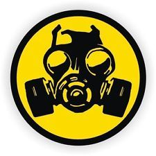 Batman Symbol Car - Distinguished Popular Gas Mask Symbol Zombie Car Stickers Easy to Install Safety Decal Infectious Disease Size Color Black and Yellow ** Find out more about the great product at the image link. (This is an affiliate link) Hard Hat Stickers, Funny Stickers, Car Stickers, Laptop Stickers, Gas Mask Art, Masks Art, Graffiti, Tatouage Plumeria, Gas Mask Tattoo