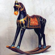 Beautiful Rocking Horse