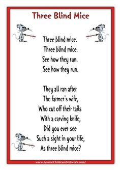 I chose this one because its a well knowen rhyme. Nursery Rhymes Lyrics, Old Nursery Rhymes, Nursery Rhymes Preschool, Nursery Songs, Rhyming Preschool, Rhyming Activities, Rhymes Songs, Fun Songs, Baby Songs Lyrics