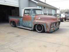 Effin' Confused 56 F100 patina'd and painted build