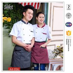 Source cheap chef coats restaurants uniforms suppliers waiter aprons shirts bakery restaurant hostess uniforms on m.alibaba.com