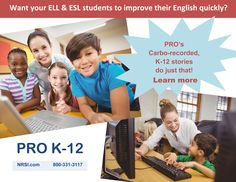 Power Reading Online ~ PRO K-12 ~ is a cutting-edge, Cloud-based reading program that optimizes learning to its fullest. PRO K-12 moves each student ahead at his or her own rate - especially struggling readers who quickly achieve extraordinary gains in reading comprehension and fluency! Go to www.nrsi.com to learn more! Get them all reading! :)