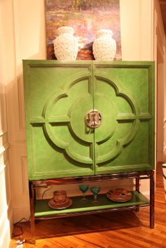 Habitually Chic®: Green Acres  cenury furniture high point