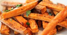 Sweet potato fries al forno   WE ♥ SUMMER - Food Confidential
