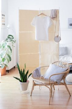 Paravent Weide # 5 Farben # Raumteiler Raumtrenner Spanische Wand Trennwand