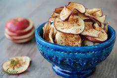 Chipsuri din mere cu scortisoara