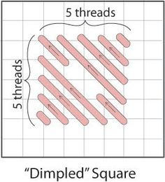 Dimpled Square