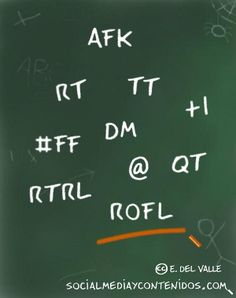 45 abreviaturas más comunes en Twitter y otras redes sociales