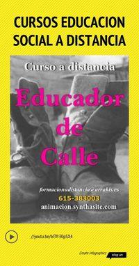 Thumbnail for Infographic: Cursos educacion social a distancia | Infogram