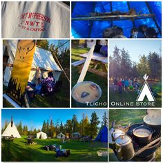 Checkout the #Dene Nahjo's Urban Hide Tanning Camp at Somba K'e Park (#Yellowknife) today.  They are there until September 12.  Camp & market is intended to give Indigenous artists and designers a platform to exhibit and sell work that celebrates land and culture, and showcases the many uses of traditionally tanned moose and caribou hide - learn more on  http://denenahjo.com @denenahjo