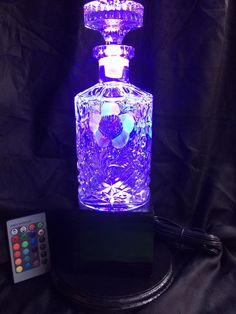 Smirnoff Bottle Uplight HOME PUB/BAR/MANCAVE BRAND NEW RECHARGABLE HARD PLASTIC Reclamevoorwerpen
