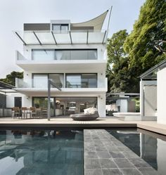 Contemporary single family residence located in Hong Kong, China, designed by Original Vision.