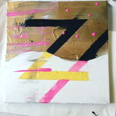 Z is for Zoey! Abstract Art by Michelle Lu