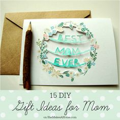 """mothers day gift idea diy 