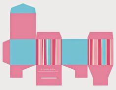 Caixinhas grátis para imprimir diversas cores