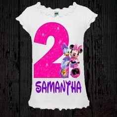 Minnie and Daisy Birthday Shirt - Girl Style Tee