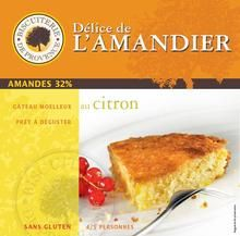 LEMON ALMOND CAKE (GLUTEN-FREE) $13.90 This incredibly moist and flavorful cake is made with almonds, fresh churned butter, and pure lemon extract (no wheat flour). This gourmet treat serves 4 persons and comes in a little tin to preserve freshness.  Biscuiterie de Provence, located in a village near Avignon, was founded in 1833. This family-owned business has retained all the proven traditional recipes that make their biscuits and pastries so deliciously distinctive.  240 grams / 8.5 oz Gluten Free Cakes, Gluten Free Recipes, Granola, French Cookies, Almond Cakes, French Food, Sans Gluten, Grocery Store, Dairy Free