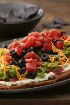 Seven layers of your favorite Mexican flavors in this easy and delicious dip!