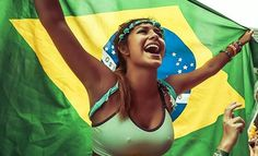 Brazilian Girls at World Cup 2014 Hot Football Fans, Football Girls, Soccer Fans, Girls Soccer, Brazil Girls, Hot Fan, Mini Short, Provocateur, Girls World