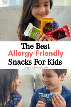 Allergy Friendly Snacks for Kids with Honest Taste Test! Bagel Chips, Sunflower Butter, Cookie Company, Chocolate Bark, Plant Protein, Protein Snacks, Food Allergies, How To Make Cake, Amazing