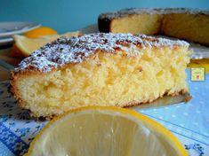 Torta semplice al limone facilissima | Chez Bibia