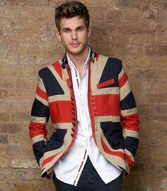 Union Jack jacket - RhinoGB