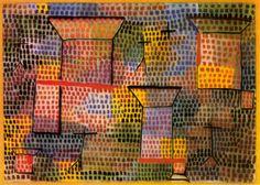 Paul Klee  Cross and Columns, 1931.