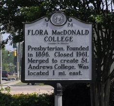 The history of Flora College.