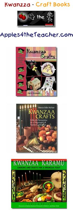 Suggested fun Kwanzaa craft books for children - Kwanzaa craft book ideas for kids.