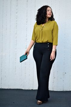 Heels And Jeans Outfit Plus Size Curvy Fashion Ideas Curvy Girl Fashion, Work Fashion, Plus Size Fashion, Fashion Heels, Fashion Black, Ladies Fashion, Fashion Fashion, Trendy Fashion, Vintage Fashion