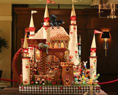 Seattle Sheraton Gingerbread Village 2012  gingerbread house decorating ideas