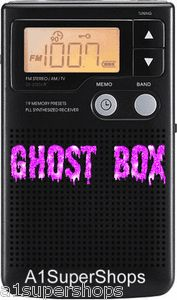 New Franks Ghost Spirit Box Radio Hunting Equipment! Paranormal Research.