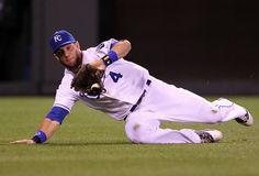 alex gordon | Alex Gordon Alex Gordon #4 of the Kansas City Royals makes a sliding ...
