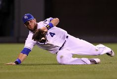 alex gordon | Alex Gordon Alex Gordon #4 of the Kansas City Royals makes a sliding ...