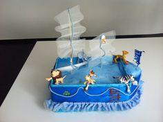 Torta di pannolini arca di Noè